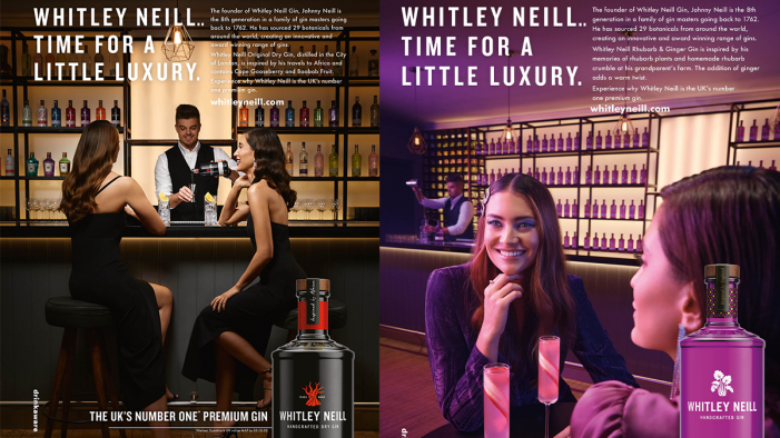 UK's No.1 Premium Gin, Whitley Neill, appoints Red Brick Road for international Christmas Campaign