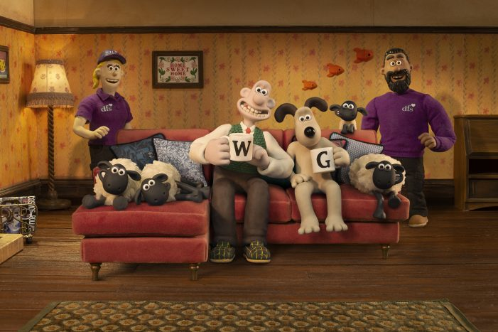 krow reveals new delightful adventure as favourites Wallace and Gromit get entangled in a sofa calamity saved by DFS