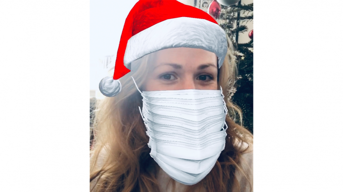 OLIVER wishes clients and staff a Merry Christmask with  new Instagram filter