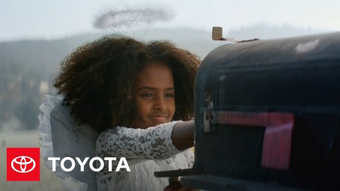 "Toyota Debuts Annual Heartwarming Holiday Commercial During NBC's ""Christmas in Rockefeller Center"""
