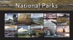 Leading branding agency Silk Pearce designs Royal Mail stamp presentation pack commemorating the UK's National Parks