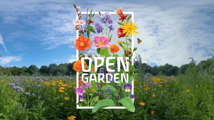 Weleda's Invitation to 'The Open Garden' for Centenary Anniversary Campaign