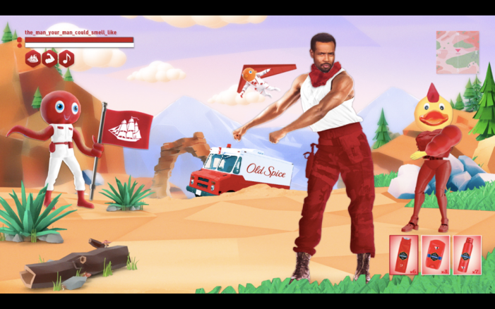 Old Spice targets gamers with new campaign by isobel