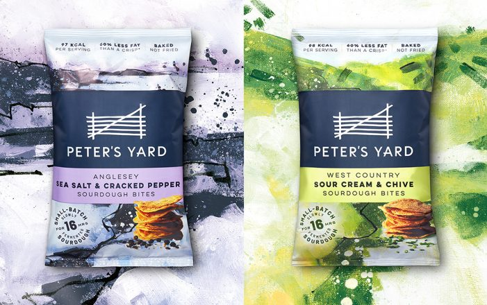 B&B studio refreshes Peter's Yard positioning and packaging, and extends brand into snacking category