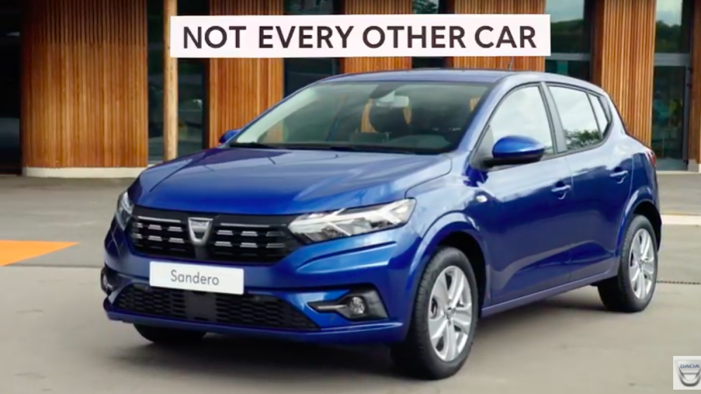 Dacia Challenges Status Quo With 'Not Every Other Car' Campaign For Sandero