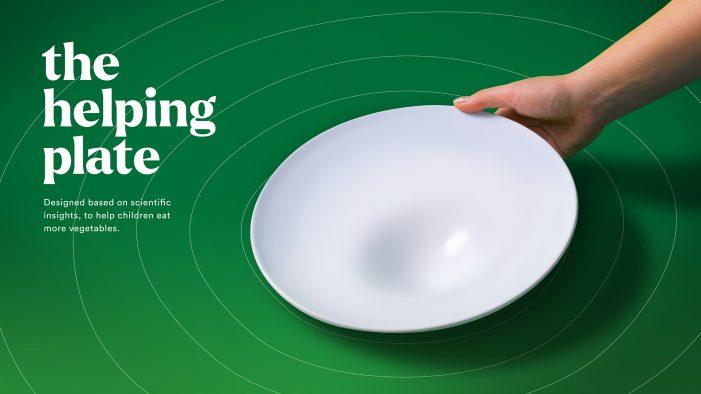 Dutch vegetables brand HAK introduces 'intelligent plate' designed to help children eat more vegetables