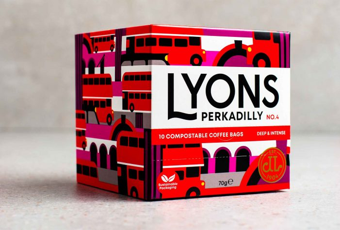 LYONS COFFEE Has A REBRAND by Distil Studio