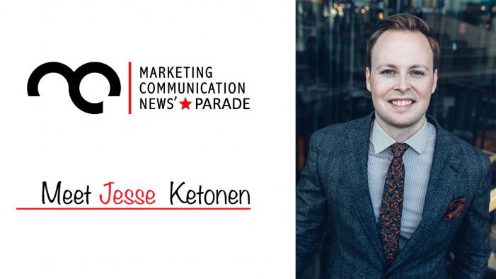MarComm' Star Parade: Meet Jesse Ketonen