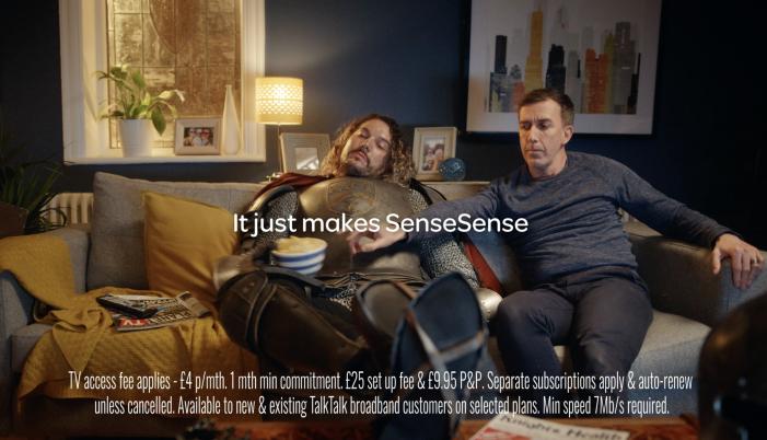 It makes SenseSense with TalkTalk