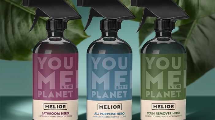 You, Me and the Planet: Biles Hendry creates brand identity and packaging for new social enterprise MELIOR.