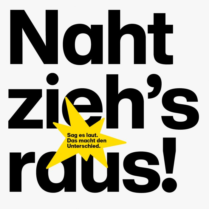 """""""Noise Against Nazis"""" – Laut Gegen Nazis e.V. and Serviceplan Campaign Unite to Call for Moral Courage in Standing Up Against Far Right Extremism"""