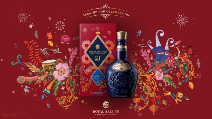 In celebration of Lunar and Chinese New Year, Royal Salute and Boundless Brand Design collaborate on a bold new Limited-Edition.