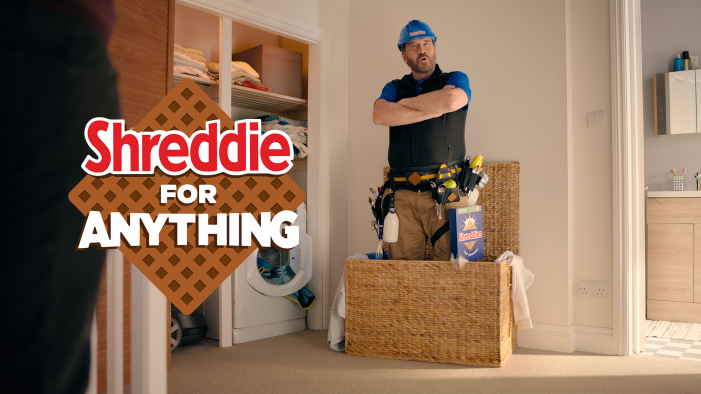 "Nestlé Cereals launches new Shreddies brand campaign ""Shreddie for Anything"" with Nick 'Get It Done' Knowles"