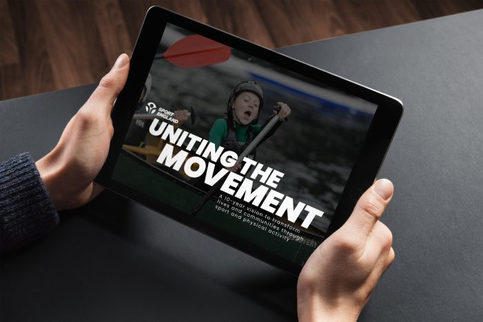 "Sport England launch their bold new 10-year strategy ""Uniting The Movement"" with a new multi-agency team"