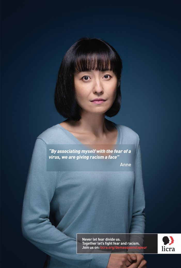 « Faces of Fear »New LICRA campaign against fear and racism