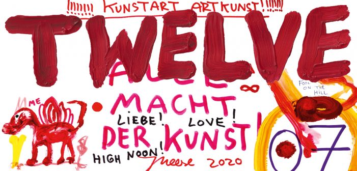 Iconic German Contemporary Artist Jonathan Meese Creates Artwork for New issue of TWELVE magazine, Serviceplan Group's Annual Publication