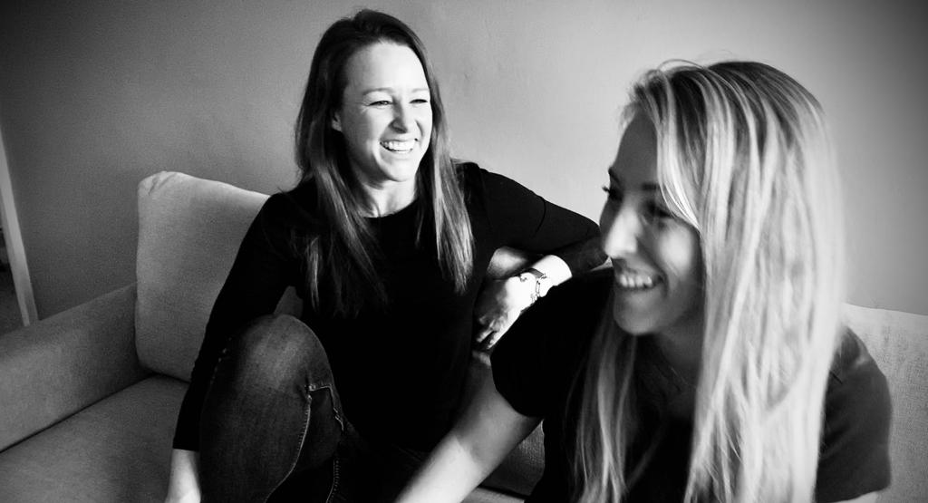 Sophie Coyne and Megan Leppan