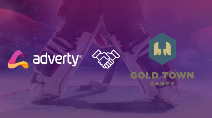 Adverty and mobile game developer Gold Town Games enter into strategic partnership