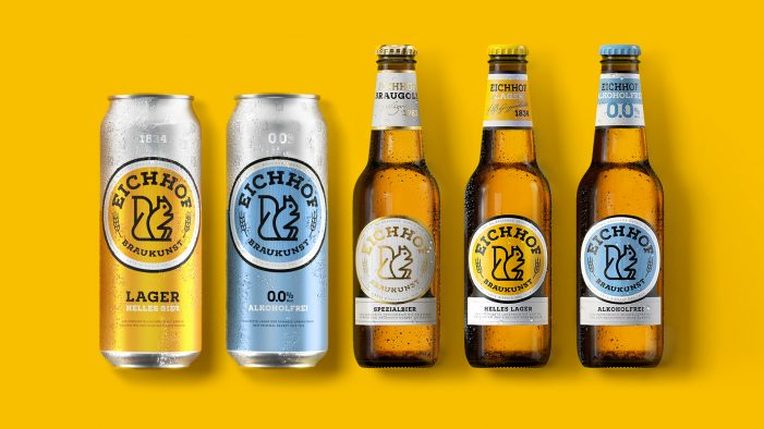 Pearlfisher brews new traditions with the redesign of Eichhof