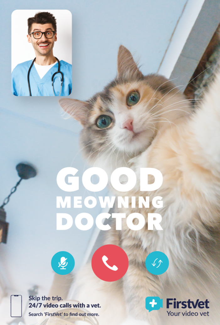 World's first digital veterinary clinic FirstVet appoints ELVIS to build brand awareness in the UK