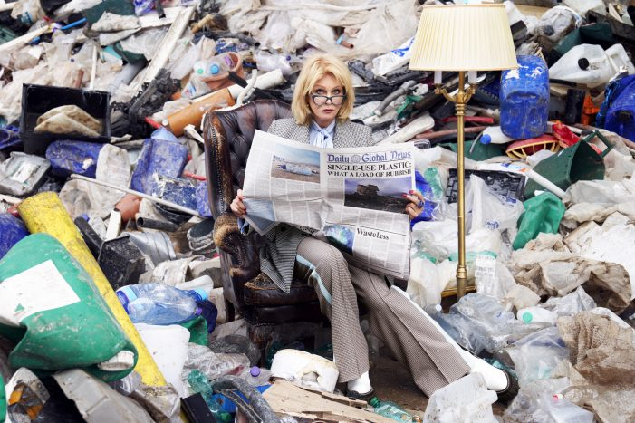 Iris and BRITA enlist Joanna Lumley to encourage the nation to 'Get your green on'