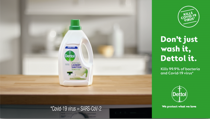 'Don't just wash it, Dettol it'