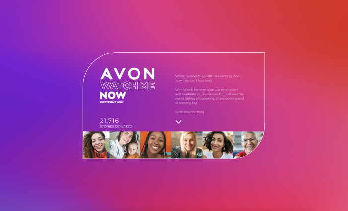 Shared experience is key to women's resilience says new study in Avon and Wunderman Thompson's 'My Story Matters' campaign