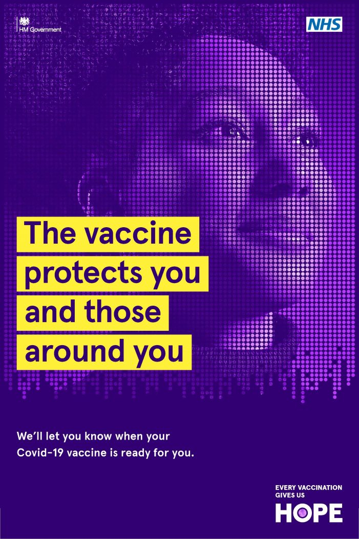 Government Launches First Ever TV Advert For The COVID-19 Vaccination Programme