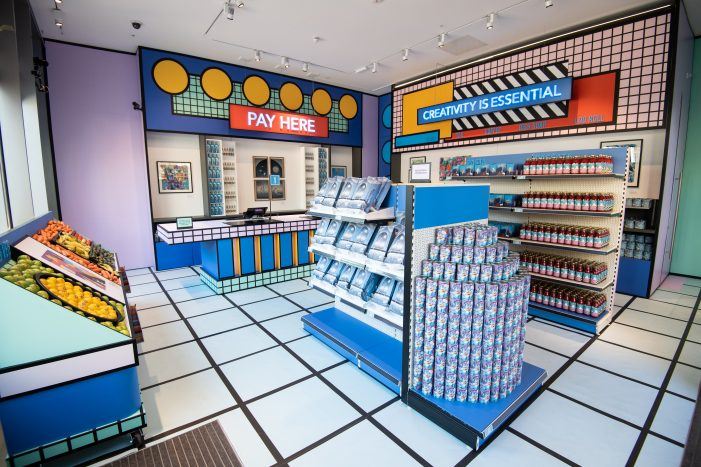 BOMBAY SAPPHIRE opens Supermarket at the Design Museum, an art installation to show that creativity is essential