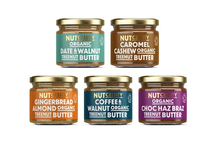Nutcessity – Nut Butters Get A Full Packaging Upgrade By Buddy.