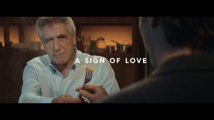 "BARILLA Launches ""A SIGN OF LOVE"", The New Global Brand Positioned Signed By Publicis Italy."