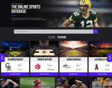 SCS Launches IMDb-like Sports Platform