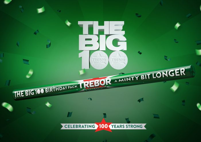 "Trebor brings back iconic ""minty bit stronger"" jingle to mark 100th anniversary"