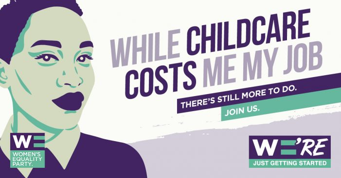 Quiet Storm devises hard-hitting campaign for Women's Equality Party