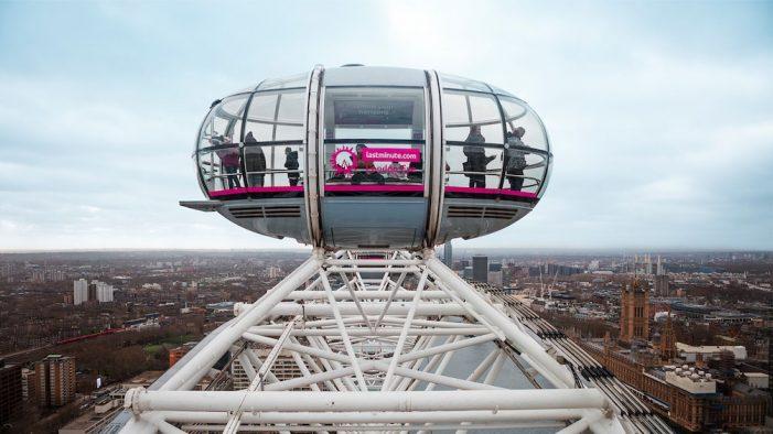 Merlin appoints ELVIS for lastminute.com London Eye creative push