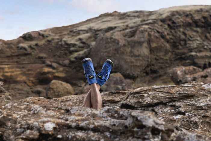 Visit Iceland upcycles lockdown sweatpants into hiking boots