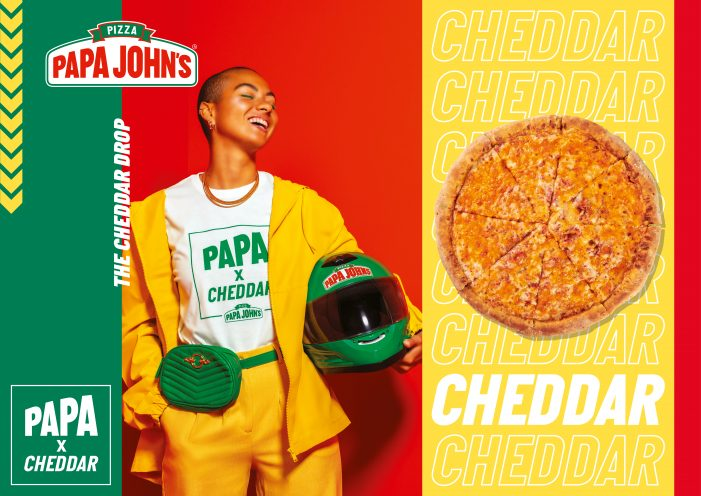 PAPA JOHN'S Collabs With Cheddar In Satirical New Global Marketing Campaign