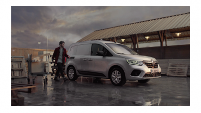 With the new Renault Kangoo Van « Open for big things »