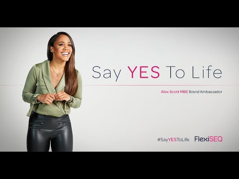 """Dirt & Glory launch FlexiSEQ's """"Say YES To Life"""" campaign fronted by Alex Scott MBE"""