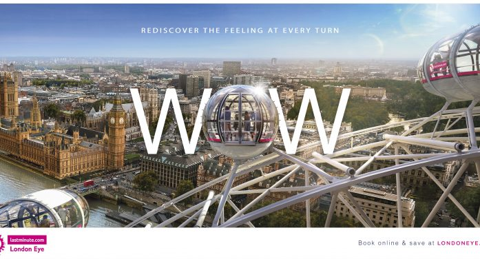 Merlin evokes The lastminute.com London Eye experience and reinforces its iconic status in new push from ELVIS
