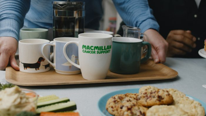 Whatever your reason to host a Macmillan Coffee Morning, it's a great one in new campaign by AMV BBDO