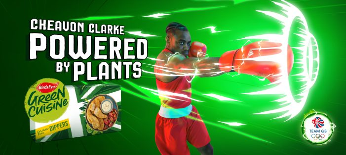 "Green Cuisine celebrates Team GB sponsorship in Manga-inspired ""Powered by Plants"" push"