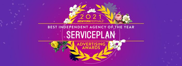 The New York Festivals Advertising Awards have announced the specialty Industry Awards recipients for 2021, with  Serviceplan Group Recognised as Independent Agency of the Year.