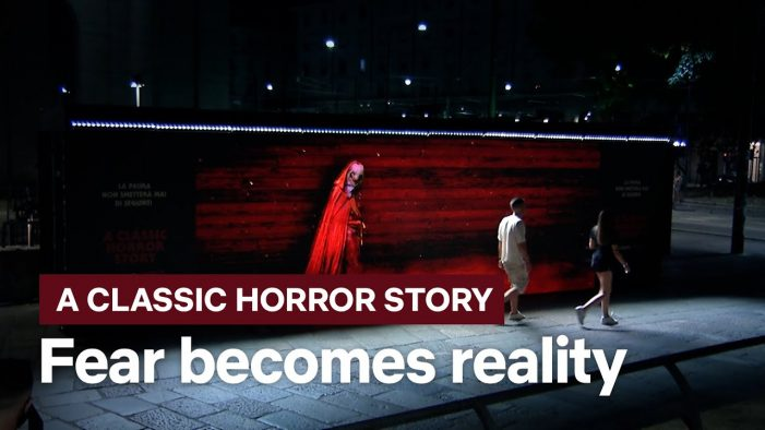 Publicis Italy and Netflix presents A Classic Horror Story