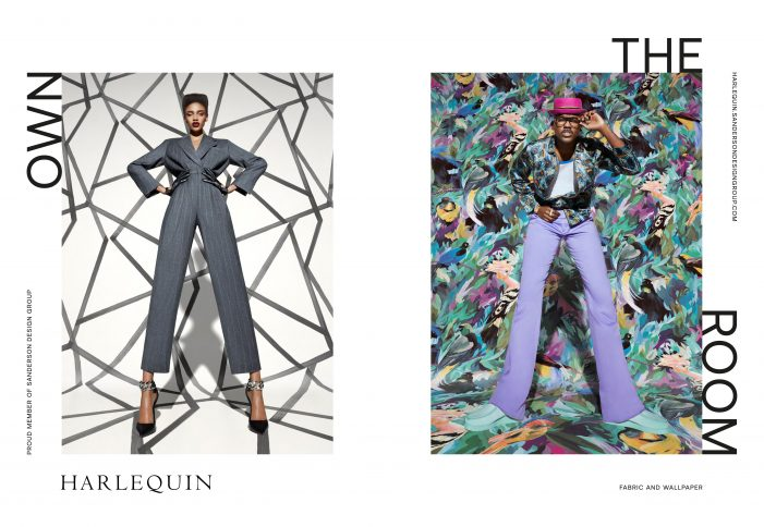 """Sanderson Design Group Encourages People To """"Own The Room"""" In New AD Campaign For Iconic Interiors Brand Harlequin"""