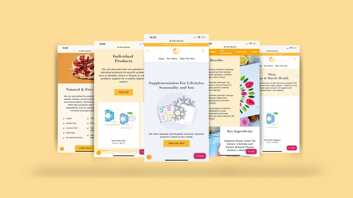 Refreshed E-commerce Websites For VSL#3 And Hello Day Improve Customer Experience And Engagement