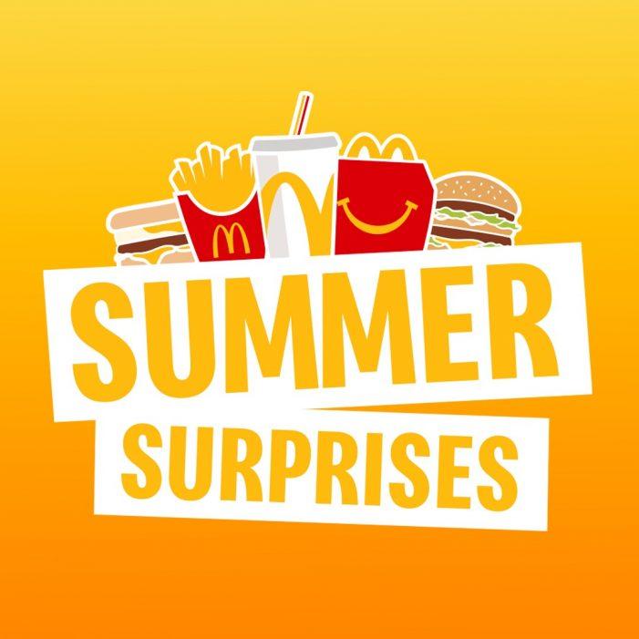 Armadillo launches Summer Surprises for McDonald's in Ireland