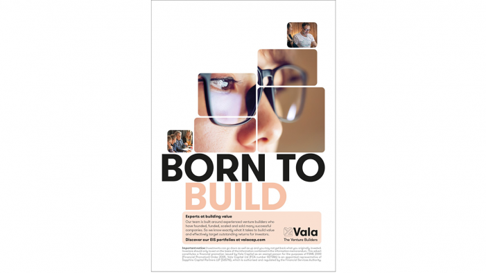 VALA – THE VENTURE BUILDERS: AML Create Bold Campaign For The Venture Capital Firm That Does Things Differently