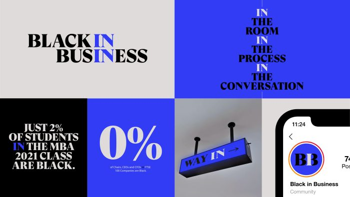StormBrands Collaborates With London Business School For Black In Business Visual Identity
