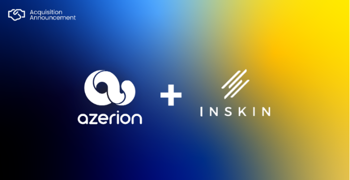 Azerion Set To Become European Digital Powerhouse Following Strategic Acquisition Of Inskin Media